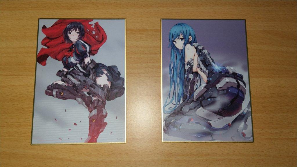 saitom展 色紙 白雪姫&人魚姫